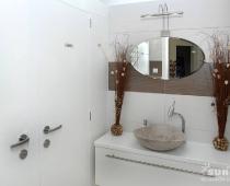 Interiér relaxačního studia - toaleta